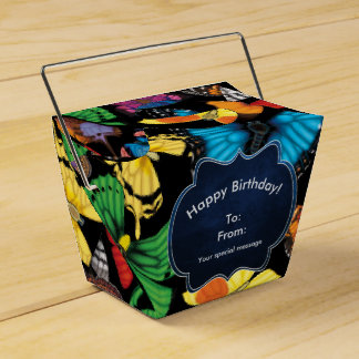 Butterfly World Customized Favor Boxes