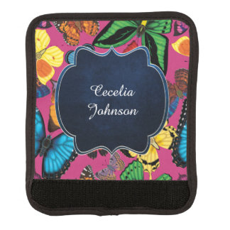 Butterfly World Customized Luggage Handle Wrap