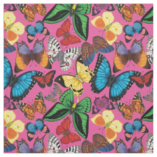 Butterfly World Fabric