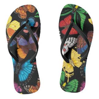 Butterfly World Flip Flops