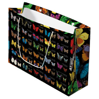 Butterfly World Large Gift Bag