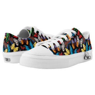 Butterfly World Low-Top Sneakers