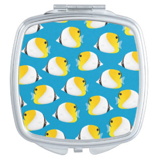 Butterflyfish Compact Mirror