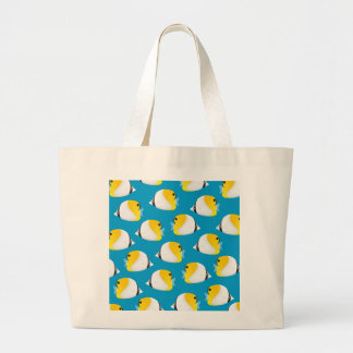 Butterflyfish Large Tote Bag
