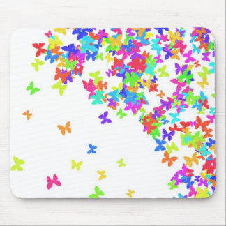 butterflys mouse pad
