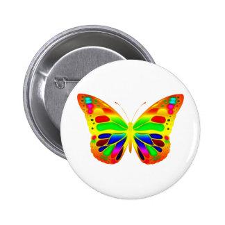 ButterflyWarrior 3 Pinback Buttons