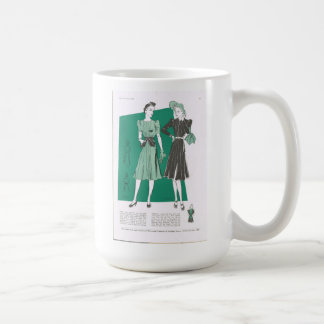 Butterick Fashion Lady Classic White Mug