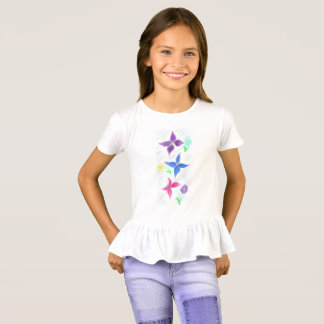 butterlies and flowers T-Shirt