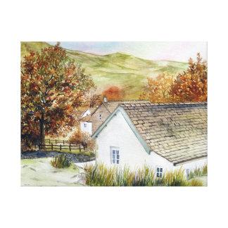 Buttermere Village, Lake District, England Canvas Print