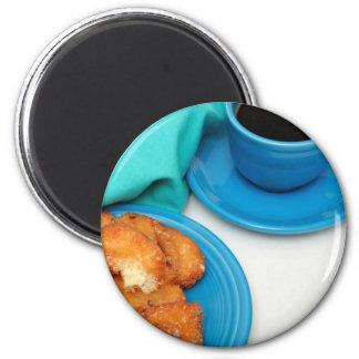 Buttermilk Donut 2 Inch Round Magnet
