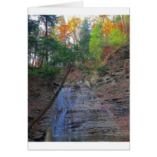 Buttermilk Falls Cuyahoga National Park Ohio Card