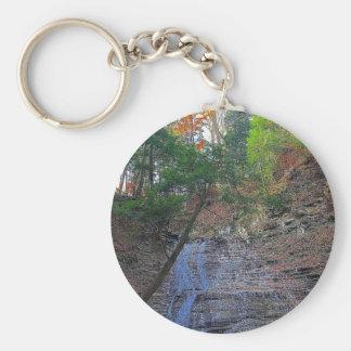 Buttermilk Falls Cuyahoga National Park Ohio Keychain
