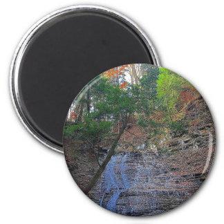 Buttermilk Falls Cuyahoga National Park Ohio Magnet