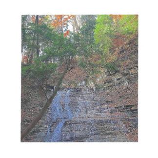 Buttermilk Falls Cuyahoga National Park Ohio Notepad