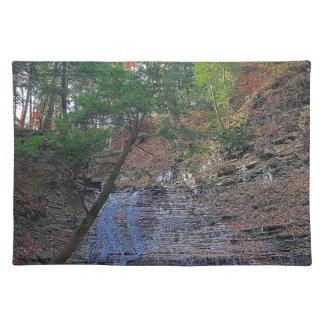 Buttermilk Falls Cuyahoga National Park Ohio Placemat
