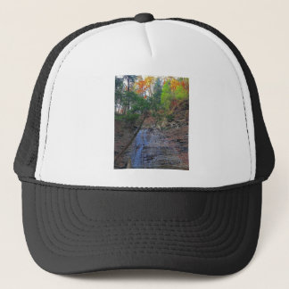 Buttermilk Falls Cuyahoga National Park Ohio Trucker Hat