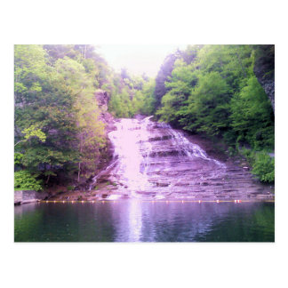 Buttermilk Falls in Ithaca, NY Postcard
