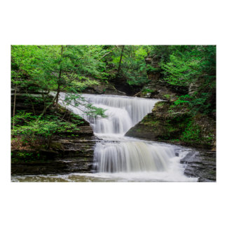 Buttermilk Falls Waterfall Photography Posters