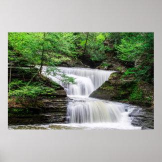 Buttermilk Falls Waterfall Photography Print