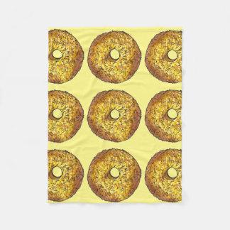 Butternut Crunch Donut Doughnut Yellow Blanket