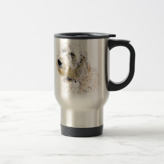 Butters the Labradoodle Travel Mug