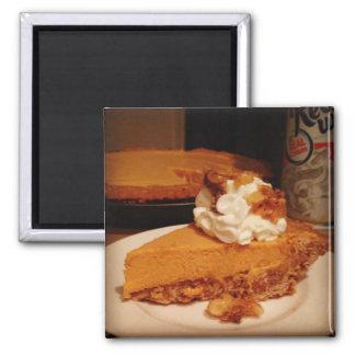 Butterscotch Mousse Pie Magnet