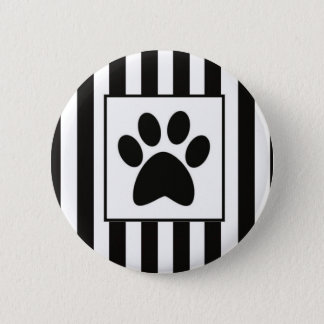 Buttom Patinha with stripes 2 Inch Round Button