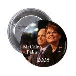 button6, McCain, Palin, 2008 - Customized Pinback Buttons