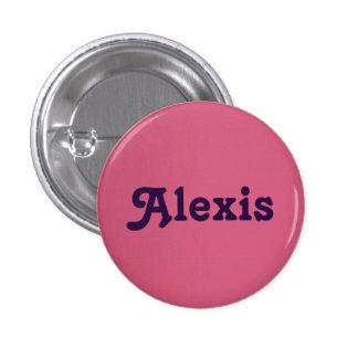 Button Alexis