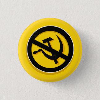 Button: Anti hammer and sickle 1 Inch Round Button