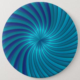 Button blue spiral vortex
