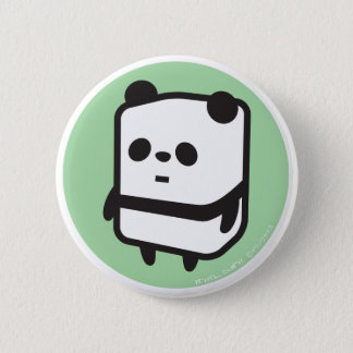 Button - Box Panda - Green