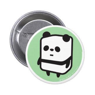 Button - Box Panda - Green