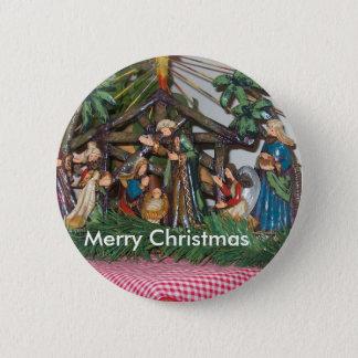 Button/Christmas/Nativity 2 Inch Round Button