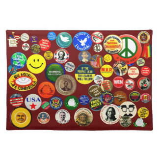 Button Collection - Placemat