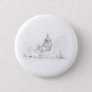 Button design Hanover city hall landscape