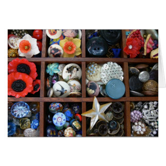 Button Drawer Card