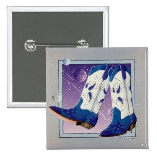 Button - Electric Slide Cowboy Boots