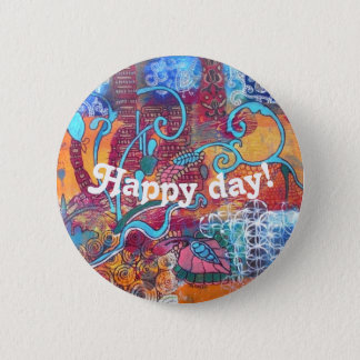 """button """"Happy Day"""""""