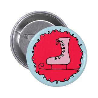 Button, ice skate