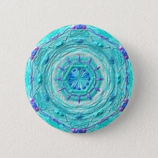 "Button Mandala 08 ""turquoise """