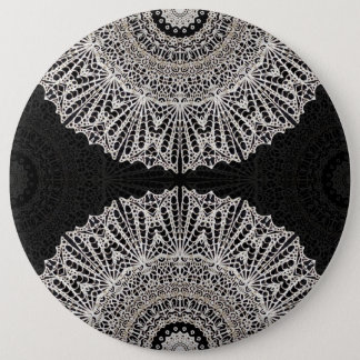 Button Mandala Mehndi Style G384