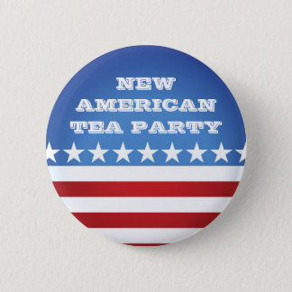 Button-New American Tea Party 2 Inch Round Button