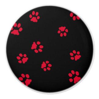 Button of ceramics legs door ceramic knob