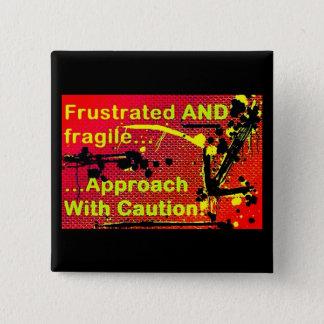 button/pin/badge 2 inch square button