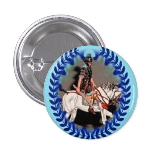 Button Roman Horse Soldier By Ladee Basset