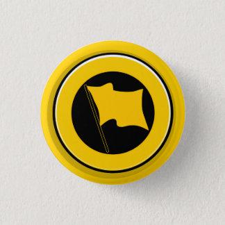 Button: small Antikom logo 1 Inch Round Button