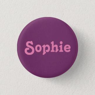 Button Sophie