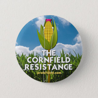 Button - The Cornfield Resistance