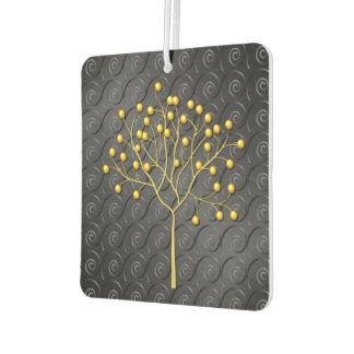 Button Tree Car Air Freshener